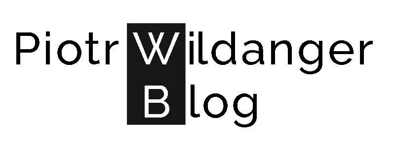 Piotr Wildanger - Blog